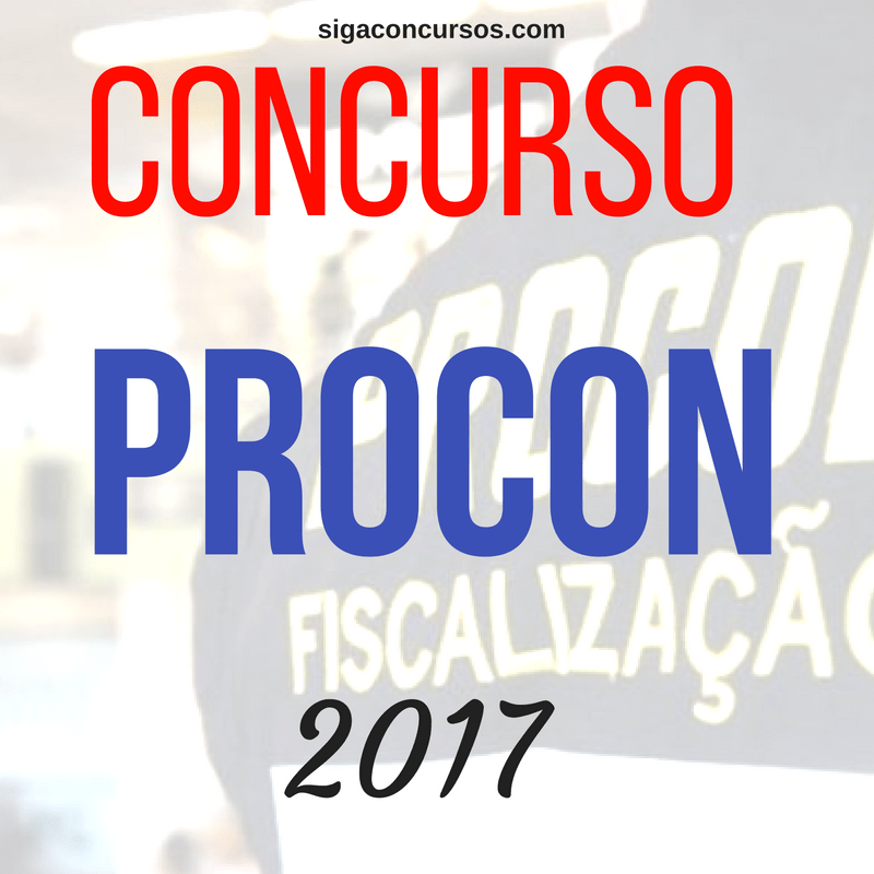 Concursos para o Procon-SP